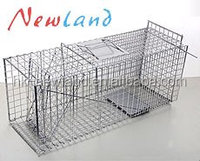NL1106 Hot sales collapsible folding rat cage traps