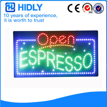 Open Led Sign 12V Led Open Signs Supplier from Shenzhen