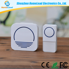 52 Melodies 1000ft Working Range Unique Novelty Wireless Waterproof Doorbell Wholesale with CE, RoHS, FCC