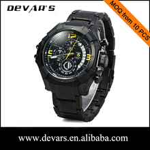 Custom your own brand quartz men watch watches men price of western watches