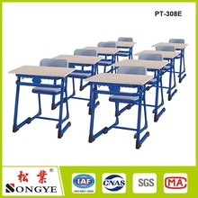 Student desks and chairs children desk fixed Single Family cram School tables