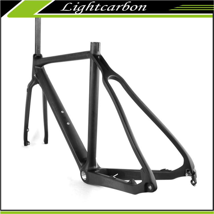 2017 LightCarbon Carbon Frame LCX027-D Cyclocross Disc brake Frame Factory Direct