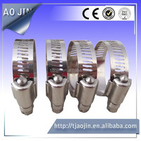 High Peformance Worm Drive Clamp/19mm pipe clamp