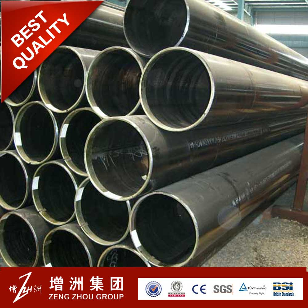 astm a653 large diameter ssaw spiral steel pipes for conduit and oil line deep drawing