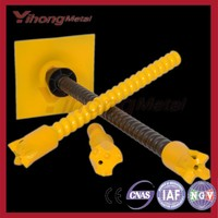T40 2.3 weight (kg/m) steel self-drilling anchor bolt
