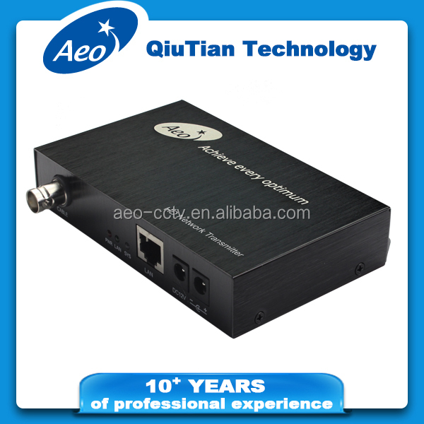 CCTV - HD1080P Network Transmitter and Receiver for IP camera security