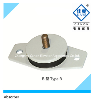 Lift parts Absorber Rubber pad for Elevator Traction Machine