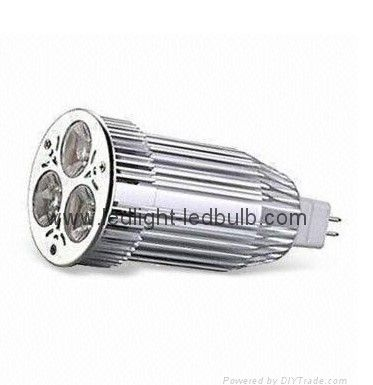 Quality high power MR16 3X3W LED spotlight