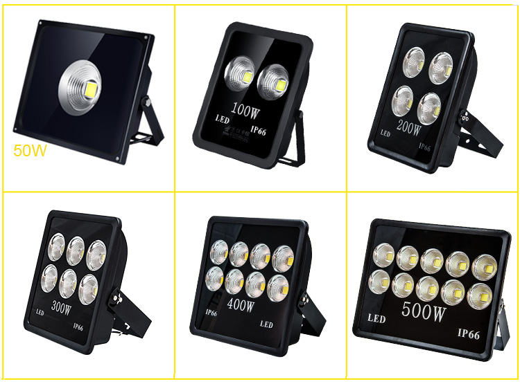 High Power Outdoor IP66 Wholesale Price 100 150 200 300 350 400 500 Watt LED Flood Light