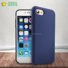2017 high quality and New Liquid Silicone Rubber Mobile Phone Case for iphone 7 Back Cover Case