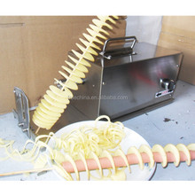 potato processing machinery/spiral potato cutter/potato curly fry cutter