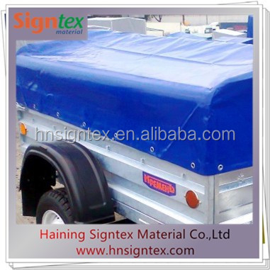 PVC coated tarpaulin truck cover 680gsm 20oz 1000d with fire retardant DIN B1