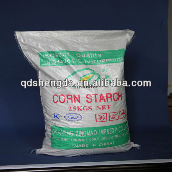 Halal Certificate of ON-GMO Food grade best price good quality Chinese Manufacture native Corn starch for ham making