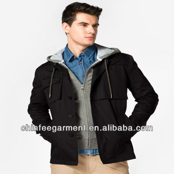 High quality men motorcycle jacket 2013