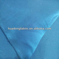 CVC printed fleece fabric