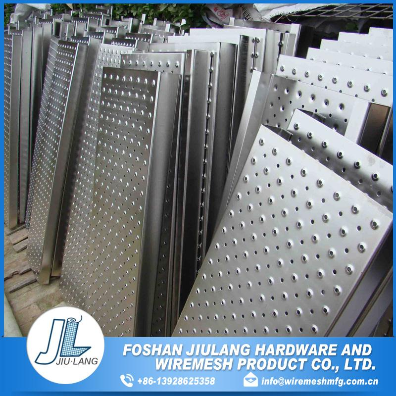 easily Assembled waterproof micro perforated metal sheet