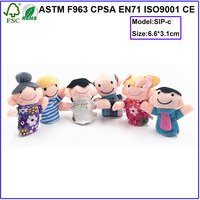 happy family finger puppets toys finger puppets set for children