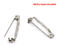 Wholesale Cheap Silver Tone Brooch Back Bar Pins Findings