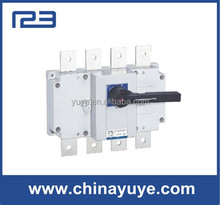 100Amp Disconnect Isolation changeover manual load break switch for Generator and Cabient to cut off the power switch