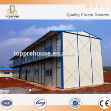 Prefabricated Mobile Sandwich Panel Green House In Nigeria for construction camp