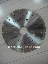 Diamond saw blade for granite cutting, Stone Saw Application concrete cutting blade