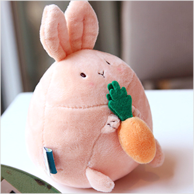 carnival plush toys bunny with carrot