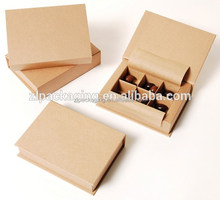 Wholesale custom luxury kraft paper chocolate bar packaging box for wedding invitation