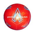 custom design&logo official size&weight leather TPU hand sewed soccerball