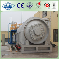 Yongle Brans Use Tyres /Plastic/Rubber Pyrolysis machine for sale