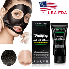 USA Top Seller Deep Cleaning Charcoal Blackhead Remover Peel Off Face Black Peel Mask