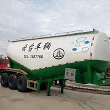 Bulk cement tank 38-58cbm truck trailer concrete powder tank trailer Transport truck