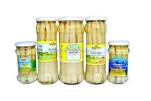Supply 212ml/11cm canned white asparagus in jar 15-25s