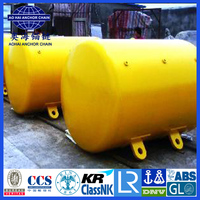 Cylindrical Type Steel Mooring Buoy