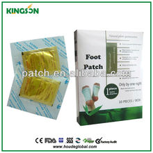 Lowering diabetes foot patch/mudoku detox foot pads/Invigorating kidney foot patch