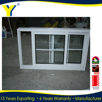 YY construction window grills design aluminium profile sliding window with grills double glazed sliding windows with as2047