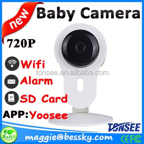 trade assurance ip CMOS sensor smarter wifi baby monitor for 3G 4G mobile phone view,micro camera wifi,wifi security camera