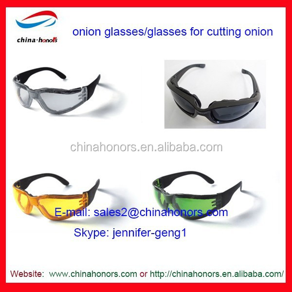 onion glasses/ protection glasses/safety glasses china