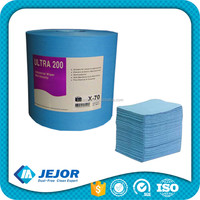Industrial Disposablec 45% Polyester 55% Cellulose Sterile Lint Free Cloth