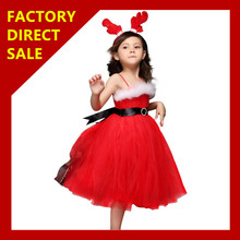 In Stock Fashion adult christmas ornament costume christmas eve costume Christmas Santarina Costume