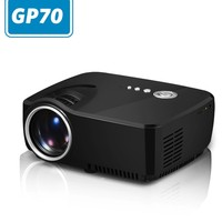 GP70,simplebeamer real new mini projector 1200 lumens for Private cinema with TV tuner,double HDMI up to 1080P