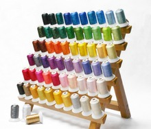 Popular Brother 63 assorted color embroidery machine thread 500m/color for any embroidery machine