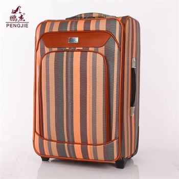 Wholesale Cheap Different Measure PU travel luggage bags