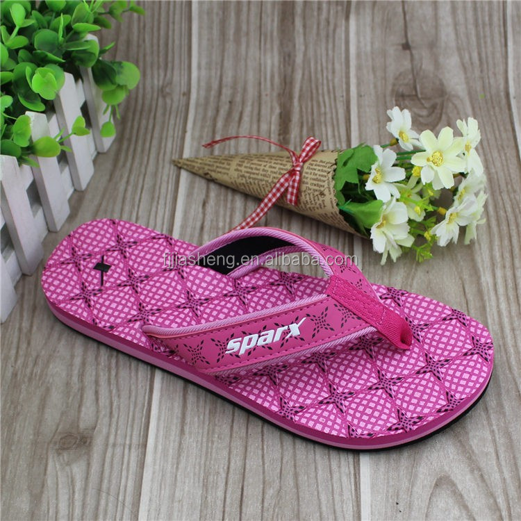 2017 new design soft girl fishion nude pu soft slipper