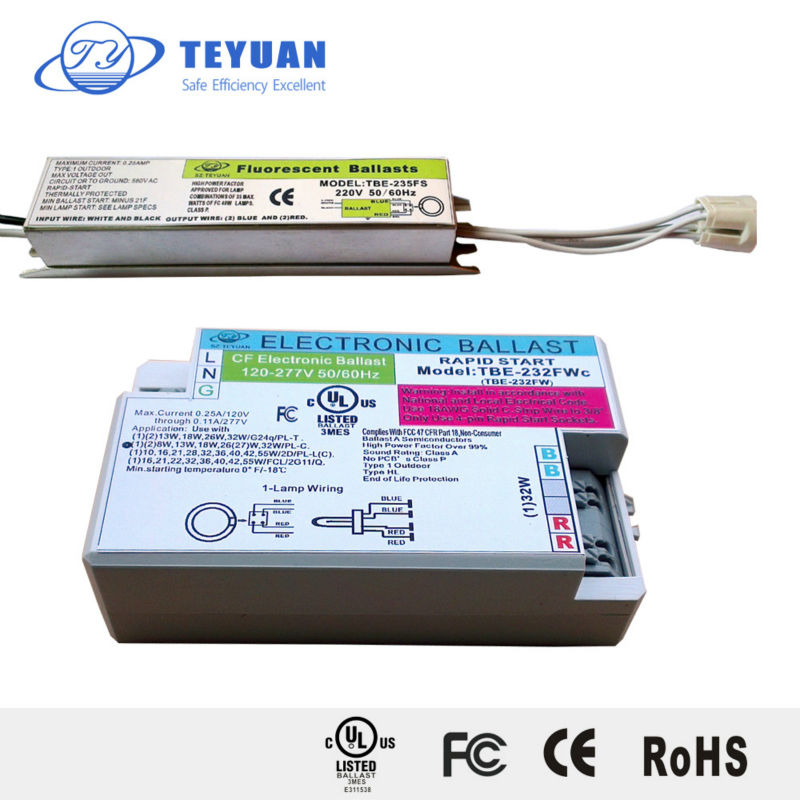UL Listed T5 22W Electronic Ballast for Circular Lamp