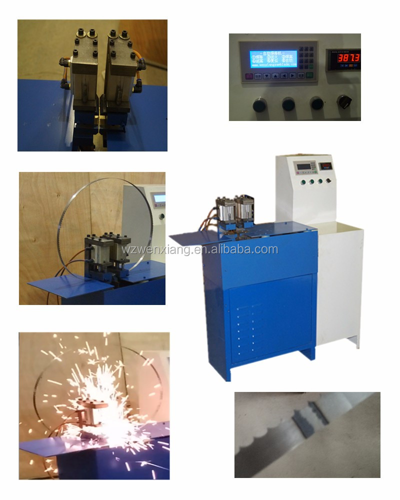 Band saw blade welder /butt welder for welding band saw baldes