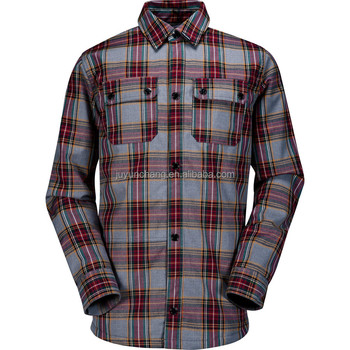 wholesale flannel shirt mens working shirt