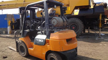 45000kg Capacity With 3ton Used GAS Forklift Truck