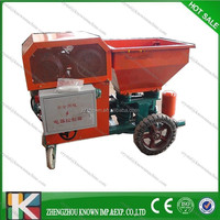 spray wall machine/ cement spray plaster machine/ mortar spray pump