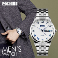 skmei 3 atm water resistant stainless steel watches timepieces for men