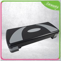 fitness exercise step board ,H0T008 adjustable fitness plastic aerobic step